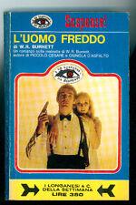 BURNETT WILLIAM RILEY L'UOMO FREDDO LONGANESI 1969 SUSPENCE 19
