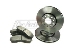 FOR ROVER CITY 1.4 CITYROVER BRAND NEW FRONT BRAKE DISCS PADS PAD SET 2003-2007
