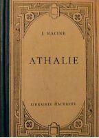 J. RACINE athalie THEATRE RARE HACHETTE++
