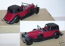 Injectaplastic huilor hispano suiza j12 1934 coupe de ville noire red ref 652b