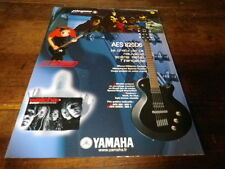 PLEYMO & WATCHA - Publicité de magazine / Advert !!! YAMAHA !!!