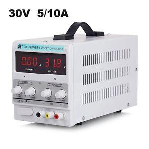 30V 10A DC Power Supply Precision Variable Digital Adjustable Regulated Lab