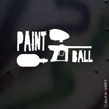 Paintball Gotcha Markierer Hopper HP Flasche Big Game 15x7cm Aufkleber #A515