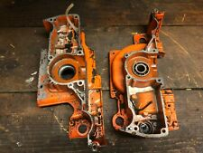 HUSQVARNA 55 LEFT & RIGHT ENGINE CASE HALF CHAINSAW PARTS