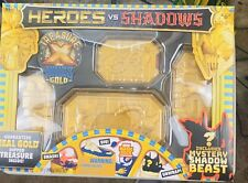 Heroes VS Shadows Real Gold Dipped Treasure Mystery Shadow Beast