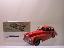 BRIMTOY POCKETOY TIN TOY 9/505 BUICK CLOCKWORK+KEY RED BOXED 1:43