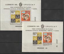 URUGUAY 1981 Royal Wedding Nhm