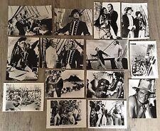LES REVOLTES DU BOUNTY - 1962 - MARLON BRANDO - 14 PHOTOS CINÉMA PRESSE