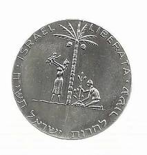 Israel 1961 (1958) Liberation (1st) Judea Capta State Medal 35mm 30g Silver 935