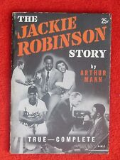 1950 THE JACKIE ROBINSON STORY 120 PAGES COMPLETE by ARTHUR MANN *RARE*