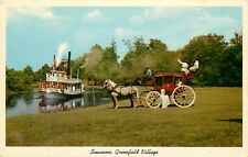 Swanee Greenfield Village Dearborn Michigan MI Postcard