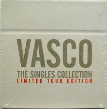 """VASCO ROSSI  """"THE SINGLES COLLECTION""""  box  cd single lim.edition sigillato"""