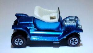 Hotwheels Redline 1968 U. S. Ltd. Blue Hot Heap