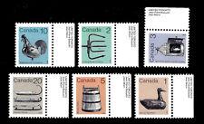 Canada. Artifacts. 1984-85. Scott 917-922.  MNH (BI#24)