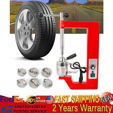 Red 110V Garage Tire Repair Machine Equipment Vulcanizer Vulcanizing Machine Us