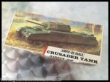 Airfix OO CRUSADER TANK TYPE 3 RED STRIPE BOX ISSUSE RARE KIT SERIES 2