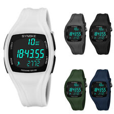 3D Pedometer Alarm Chronograph Sport Men's Digital Wrist Watch Waterproof Latest