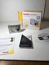 Kodak EasyShare C180 10.2MP Silver Digital Camera Working - Box Software Guide