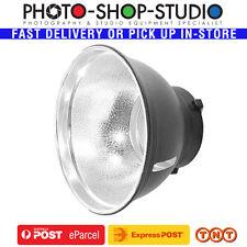 "Jinbei Black/ Silver 7"" 55 degree Portable Standard Reflector fit Bowens S-Mount"