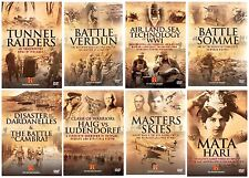 WORLD WAR 1 THE BLOODY WAR HISTORY CHANNEL DOCUMENTARIES COLLECTION NEW 8 DVD R4