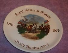 """1776-1976 200Th Anniversary Collector Plate 7 1/8"""""""