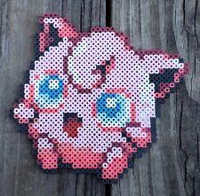 Jigglypuff Pokémon Pixel Art Perler Bead Art