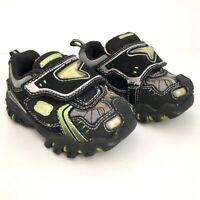 Sketchers boys LuminaTorS green/black sneakers 5