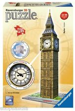 PUZZLE 3D RAVENSBURGER 12586 BIG BEN CON RELOJ AUTENTICO With Real Working Clock