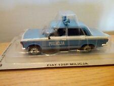 Modelcar 1:43   *** IXO IST ***   FIAT 125P MILICJA