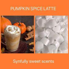 100 pumpkin Spice Latte Wax Melts BESTSELLER