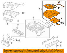 AUDI OEM 15-16 A3 Front Seat Bottom-Foam Cushion Pad Insert Right 8V0898522J