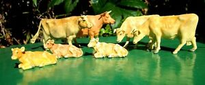 Britains Herald Jersey Cattle - 4 Cows and 3 Calfs