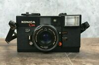 Konica C35 38mm F2.8 Point & Shoot Camera Japan, Konica Hexanon *Untested*