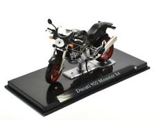 Ducati 900 Monster S4 Negro Escala 1:24 Moto Modelo de Atlas Die-Cast