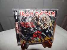 NEW CD Iron Maiden The Number of the Beast 1998 Digitally Remastered FREE SHIP !