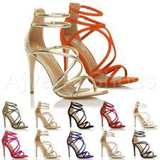 Women's Slim High Heel (3-4.5 in.) Strappy Sandals & Beach Shoes