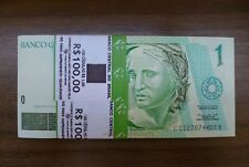 Brazil 1 Real Banknote World Paper Money Unc Currency Bill Note