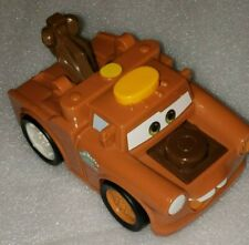 Disney Pixar Cars Tow Mater Flash Lights & Sounds 2010 Mattel