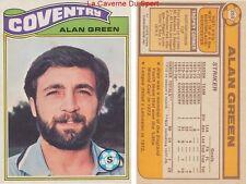 268 ALAN GREEN # ENGLAND USA COVENTRY CITY.FC CARD PREMIER LEAGUE TOPPS 1978