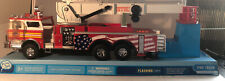 2004 Kool Toys Fire Truck Mid Mount Aerial Ladder.with Sound And Lights