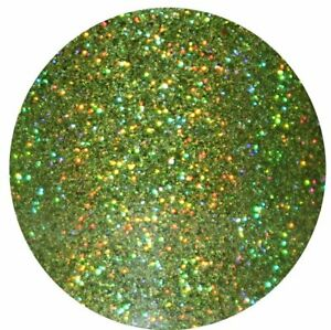 Holographic LIME GREEN GLITTER Nail Art, Body & Wine Glass *PICK YOUR  BAG*