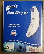 New Mack's Ear Dryer Quickly Dries Water From Ears USA Swimming