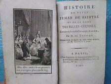 HISTOIRE DU PETIT JEHAN DE SAINTRE (1792) + LA CHAUMIERE INDIENNE (1791). E.O.