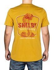 Shelby American Las Vegas, NV Mustard Tee Shirt Ford Mustang GT500 Terlingua SVT