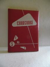 1958 Charconge Chartiers Houston Joint Junior Senior High School Pa. Yearbook