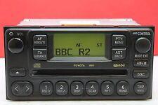 TOYOTA LAND CRUISER RAV4 PREVIA CELICA MR2 HILUX CD RADIO PLAYER STEREO DECODED