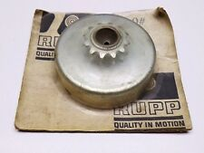 NOS 1969 Rupp Mini Bike Clutch Drum & 12T Sprocket - Scrambler