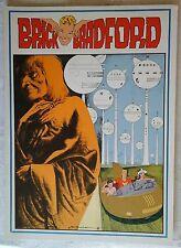 BRICK BRADFORD tavole domenicali a colori collana gertie daily 95 comic art 1980