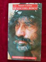 #eBayDonaPerTe LIBRO BOOK LE VOCI DEL BOSCO MAURO CORONA ED. BIBLIOTECA  #5