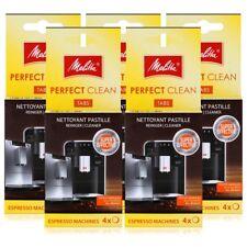 4x Melitta 6747183 Perfect Clean Reinigungstabletten für Kaffeevollautomaten